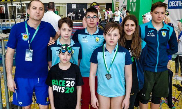 Competiţie reuşită pentru înotătorii CSM Piteşti la Dortmund