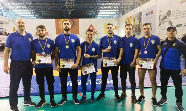Sambo | Cinci prezenţe pe podium pentru sportivii de la CSM Piteşti la Cupa României