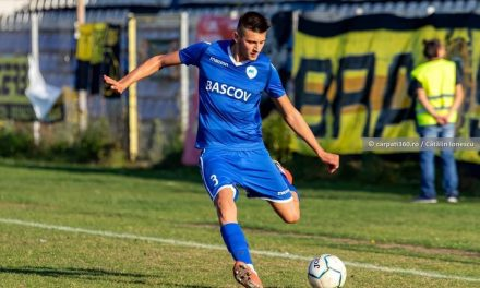 Fabrizio Constantin, jucătorul Unirii Bascov, a fost convocat la lotul U18 al naţionalei României