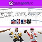 Pronosticuri din sporturile americane – oferite de site-ul Arges-Sport.ro