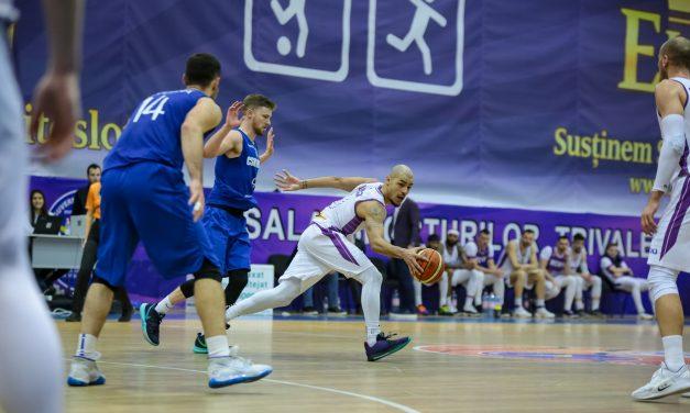 Victorie in extremis pentru BCMU FC Argeș în duelul cu CSM Mediaș: 93-88
