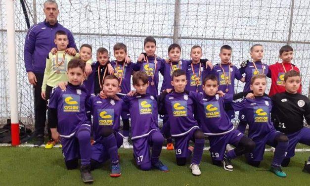 Viitorul Argeş a ocupat locul 3 la turneul Braşov Indoor Cup
