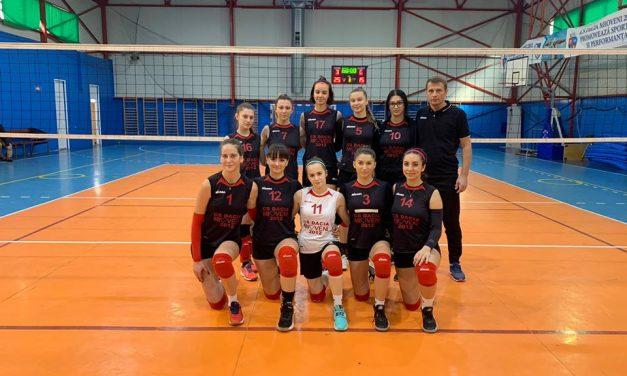 Dacia Mioveni s-a calificat la turneul semifinal de volei feminin