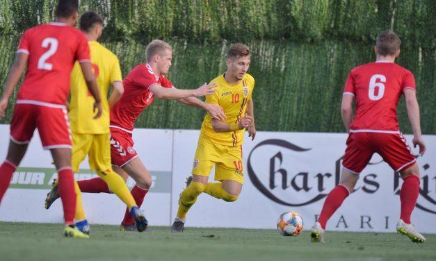 România U21 – Danemarca U21 se va disputa în noiembrie