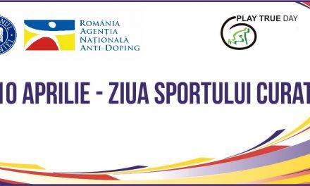 """""""Ziua Sportului Curat"""", sărbătorită în mediul online"""