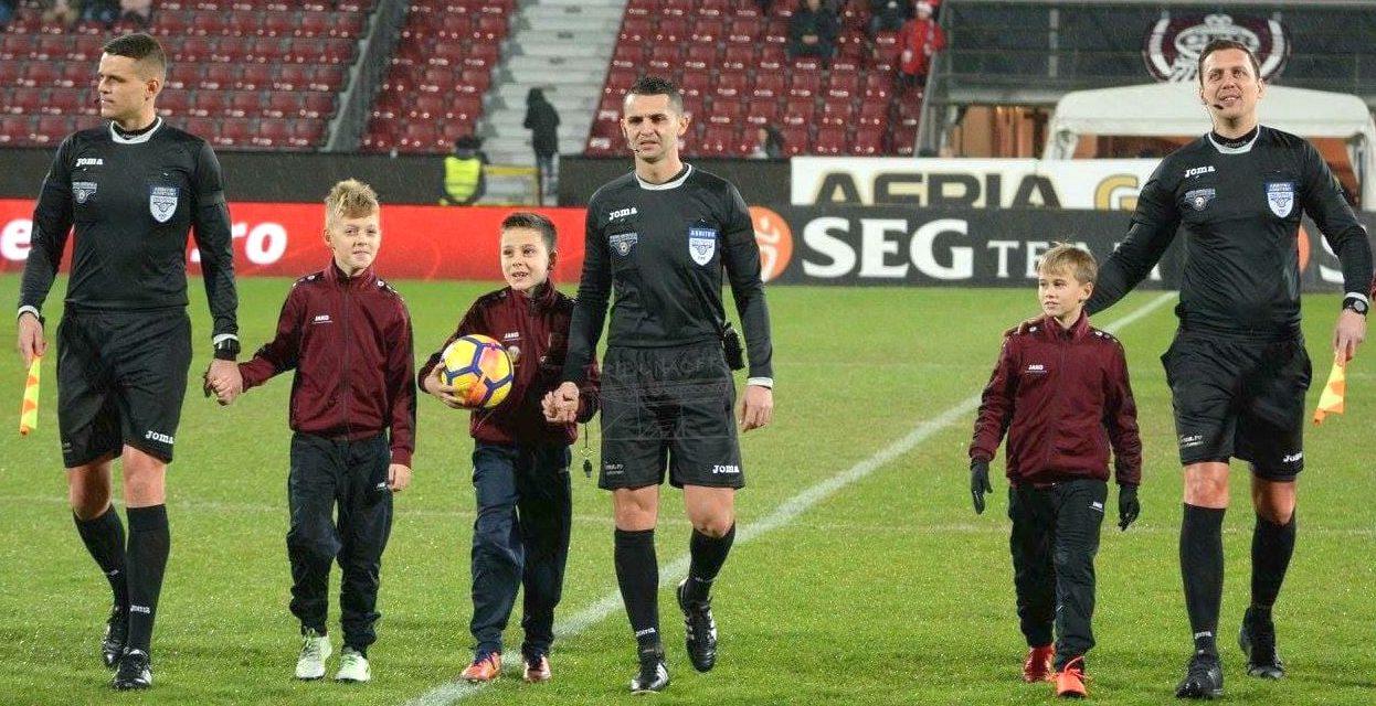 Iulian Călin va conduce meciul dintre Clinceni şi Sepsi, din Liga 1
