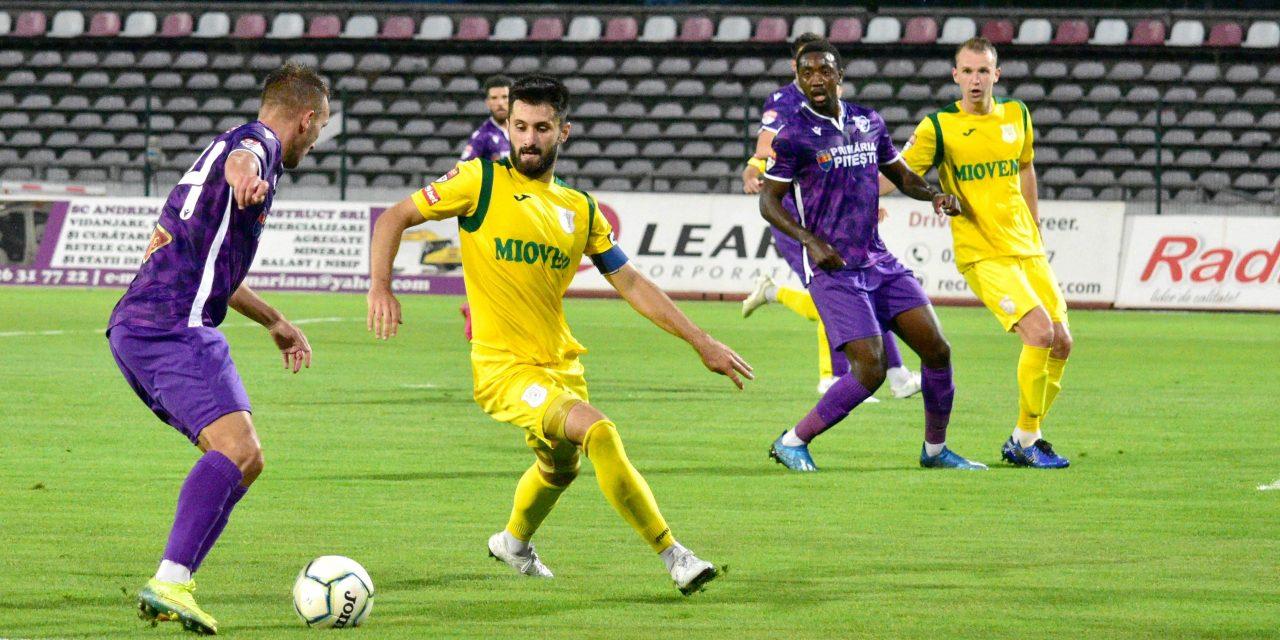 CS Mioveni bate cu 3-2 în Trivale și reintră în calculele promovării