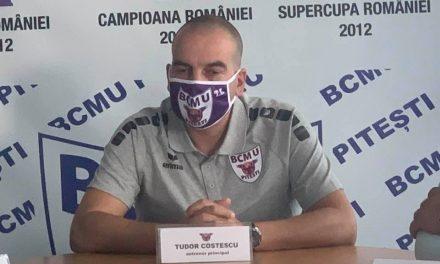 Tudor Costescu a fost prezentat azi într-o conferință de presă
