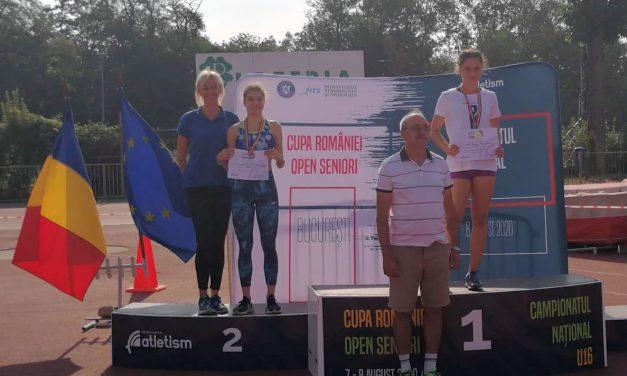 Alexandra Coman(LPS Viitorul Piteşti) , locul 1 la campionatul naţional de atletism rezervat juniorilor 3