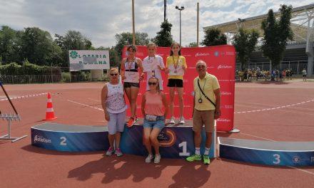 Podium piteștean la proba de triatlon a Campionatului Național de atletism rezervat copiilor