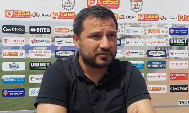 """Marius Croitoru(FC Botoşani): """" Consider că suntem favoriţi în disputa cu FC Argeş """""""