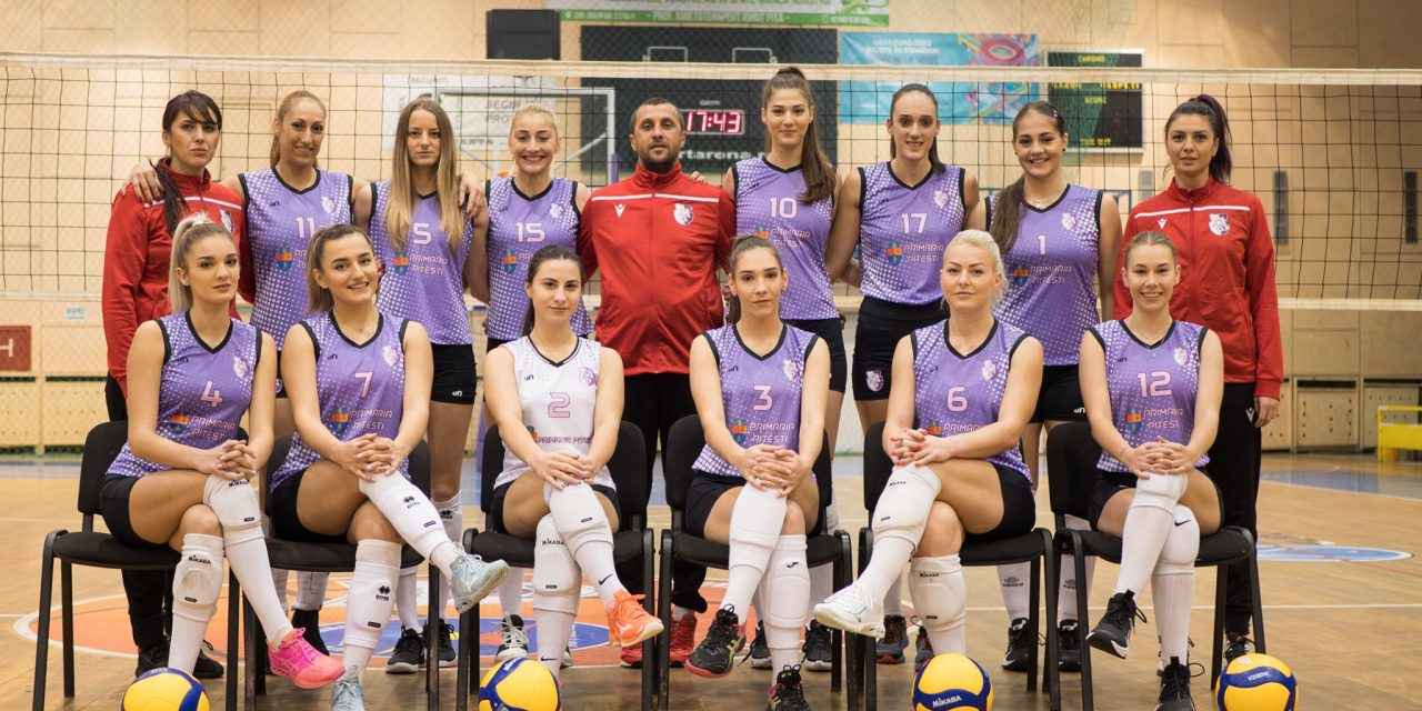 FC Argeș joacă mâine cu CS Rapid în prima etapă a Diviziei A1 la volei feminin