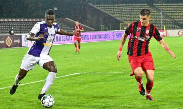 Cephas Malele , în echipa ideală a etapei a 8- a din Liga I