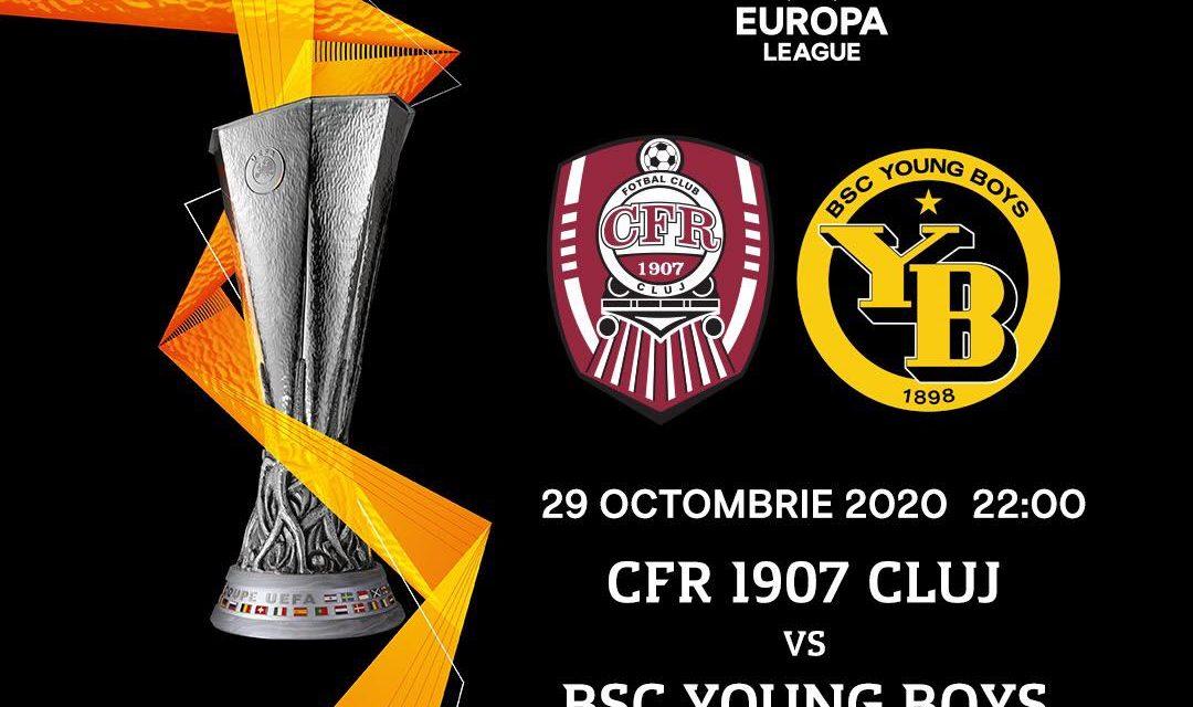 Astăzi, de la ora 22, CFR – Young Boys Berna, în Europa League   Cele mai importante ştiri sportive ale zilei sunt oferite de www.cronica.ro