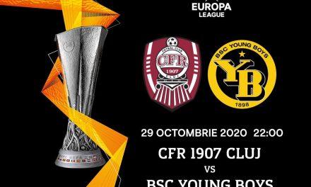 Astăzi, de la ora 22, CFR – Young Boys Berna, în Europa League | Cele mai importante ştiri sportive ale zilei sunt oferite de www.cronica.ro