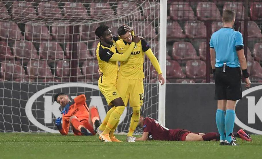 CFR Cluj – Young Boys Berna 1-1, în Europa League | Cele mai importante ştiri sportive ale zilei sunt oferite de www.cronica.ro