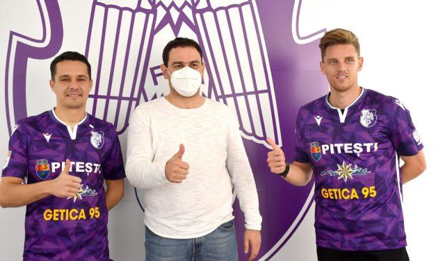 Luka Maric şi Antun Palic au semnat cu FC Argeş