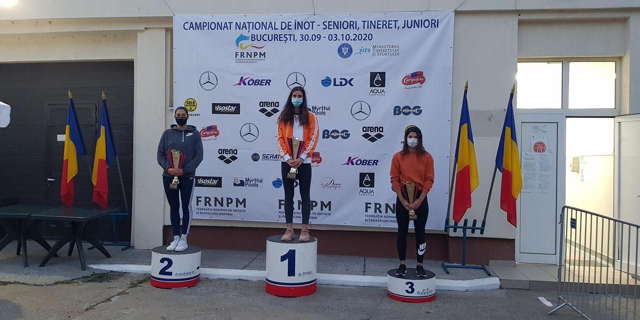 CSM Pitești a câștigat 38 de medalii la Naționalele de înot de la București