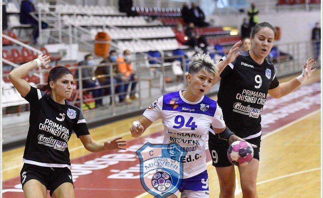 CS Dacia Mioveni învinge pe Crișul Chișineu-Criș cu 30-27 în turneul de la Sf. Gheorghe