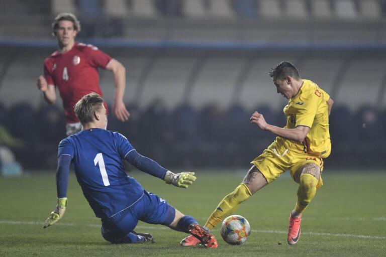 Adrian Mutu a calificat naționala de tineret a României la EURO 2021, după 1-1 cu Danemarca