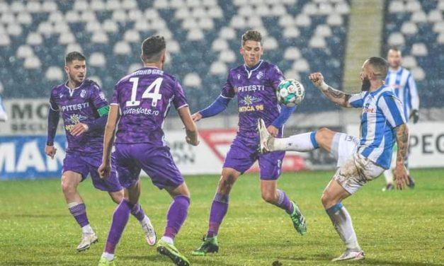 Poli Iaşi a remizat cu FC Argeş, scor 1-1