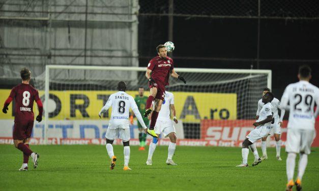 CFR Cluj a suferit  prima înfrângere în campionat, 1-2 cu Gaz Metan Mediaş |Cele mai importante ştiri sportive ale zilei sunt oferite de www.cronica.ro