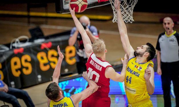 Cu trei jucători piteșteni, România a pierdut în fața Poloniei (61-91) în calificările la EuroBasket 2022