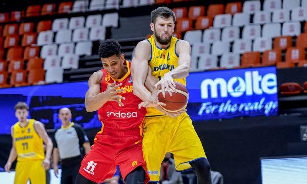 Un nou dezastru pentru naționala de baschet, România pierde în fața campioanei mondiale cu 94-41