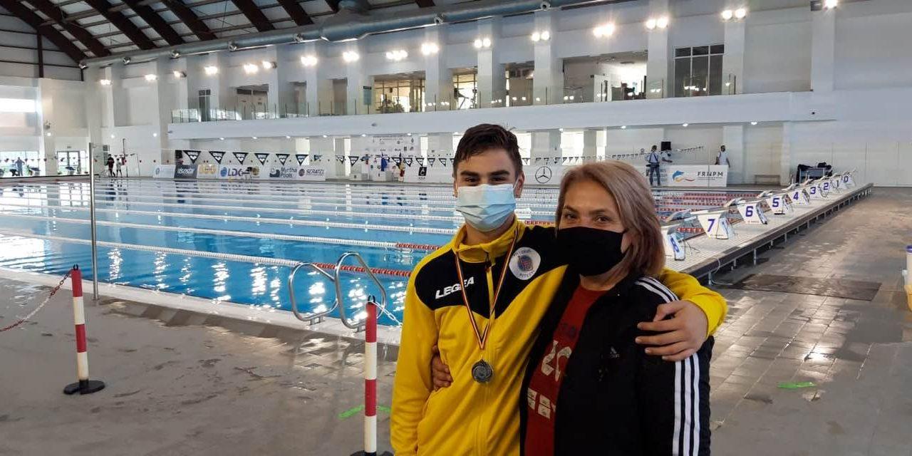 Codruț Gabriel Răducanu (LPS Viitorul Pitești), campion național de natație – cadeți