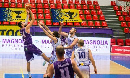 Victorie cu Timișoara și înfrângere cu Oradea pentru baschetbaliștii piteșteni, în ultimele meciuri din 2020