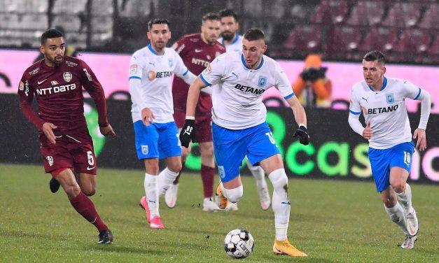 CFR Cluj – Universitatea Craiova 0-0, în ultimul meci al anului din Liga 1| Cele mai importante ştiri sportive ale zilei sunt oferite de www.cronica.ro