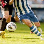 Două poziţii de apărare în fotbal