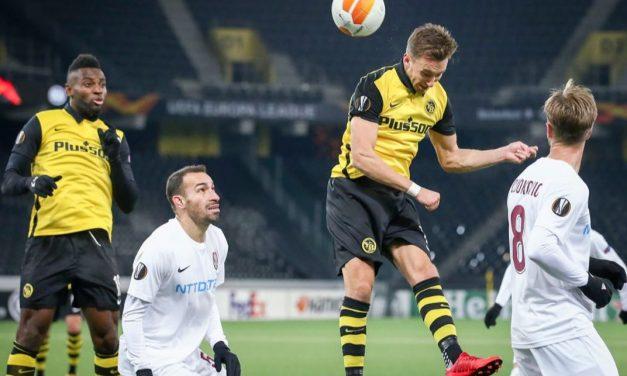 CFR Cluj a pierdut dramatic cu Young Boys Berna în Europa League, scor 1-2 | Cele mai importante ştiri sportive ale zilei sunt oferite de www.cronica.ro