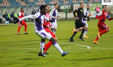 FC  Botoşani – FC Argeş 0-1, într-un meci din etapa a 16-a