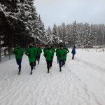 CS Mioveni a început cantonamentul montan de la Poiana Braşov