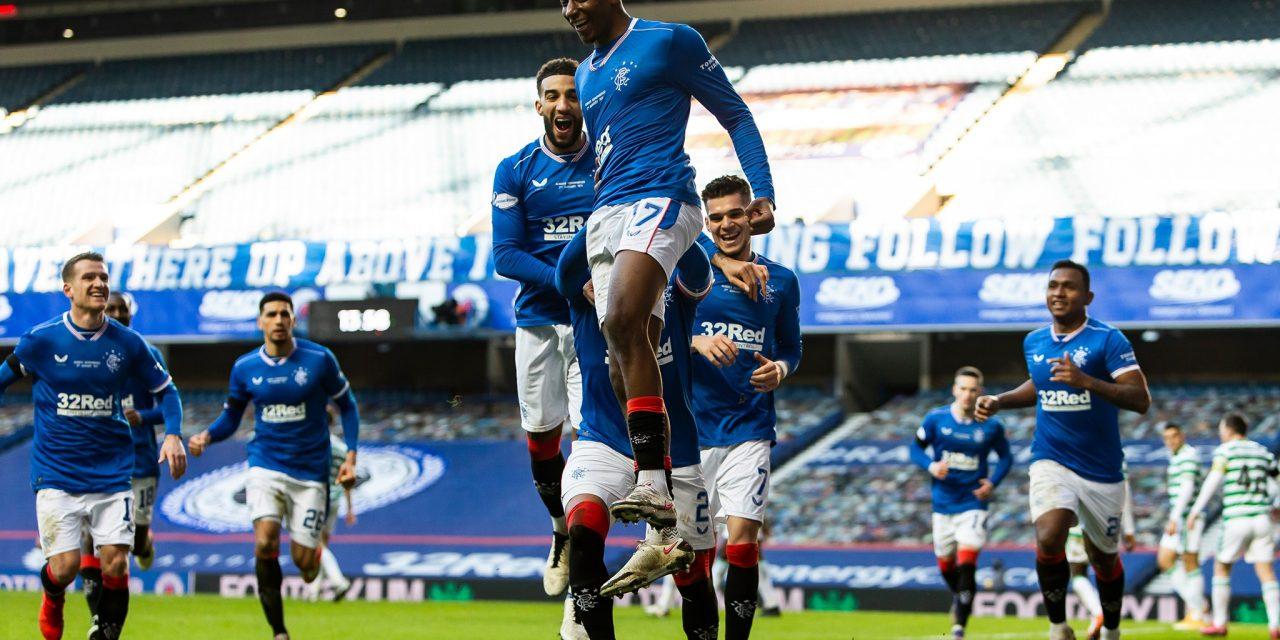 Glasgow Rangers a învins-o pe Celtic cu 1-0, după o repriză foarte bună a lui Ianis Hagi – Cronica sportivă