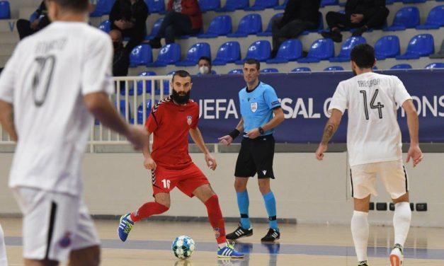 Început de an excelent pentru arbitrul Liviu Chiţa: va oficia un meci al Barcelonei, câştigătoarea Futsal Champions League