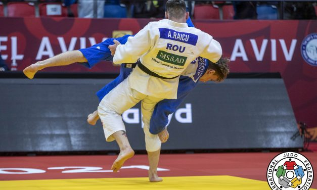 Judo   Alexandru Raicu( CSM Piteşti/FC Argeş) s-a impus la Grand Prix-ul de la Tel Aviv