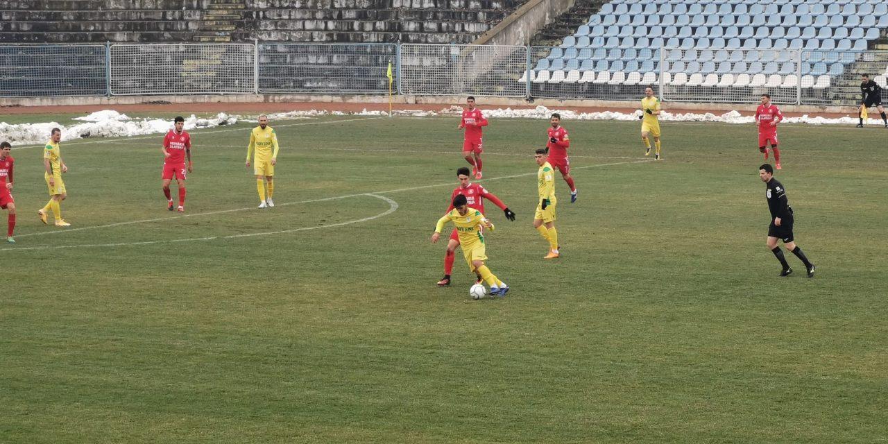 CS Mioveni s-a impus la Slatina cu 1-0 şi rămâne în obiectiv