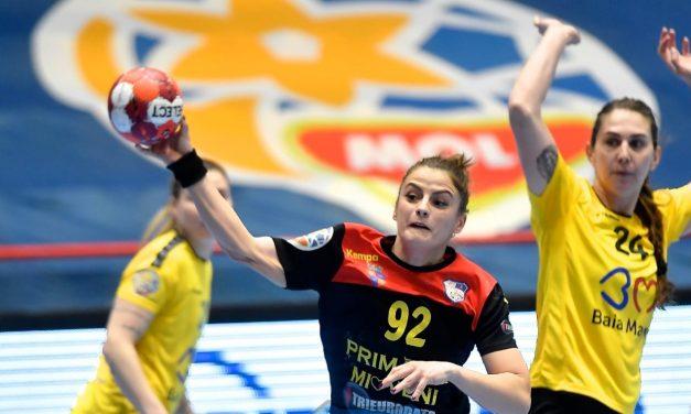 CS Dacia Mioveni pierde la 4 goluri diferență (26-30) meciul cu Minaur Baia Mare