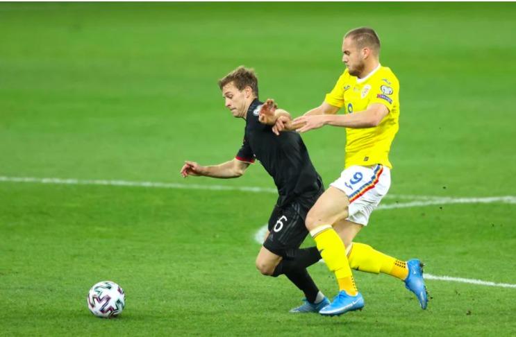 România pierde cu 0-1 în fața Germaniei, dar a sperat la un egal în ultimele minute