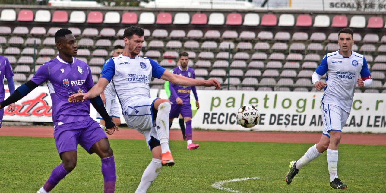 FC Argeş s-a impus cu 4-1 în faţa celor de la Vediţa Coloneşti, într-un meci amical desfăşurat joi
