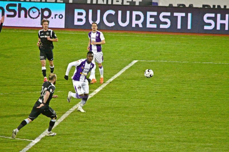 FC Argeş – Poli Iaşi, scor 2-1, în Liga I