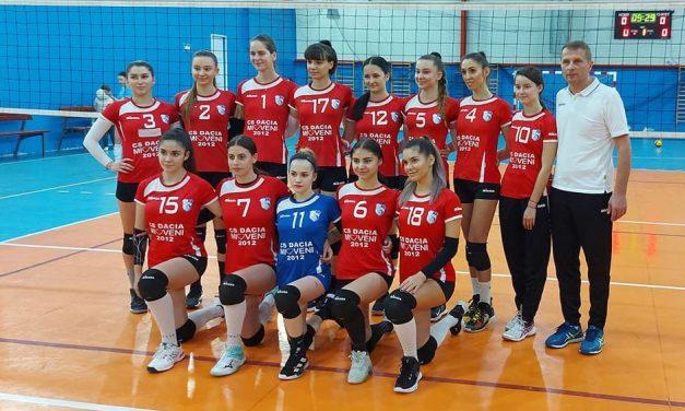 Dacia Mioveni participă în premieră la o etapă de play-off din divizia A2 Est la volei feminin