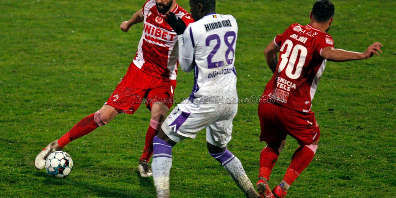 FC Argeş s-a apropiat la doar un punct de locul şase după succesul cu 2-1 în faţa lui Dinamo