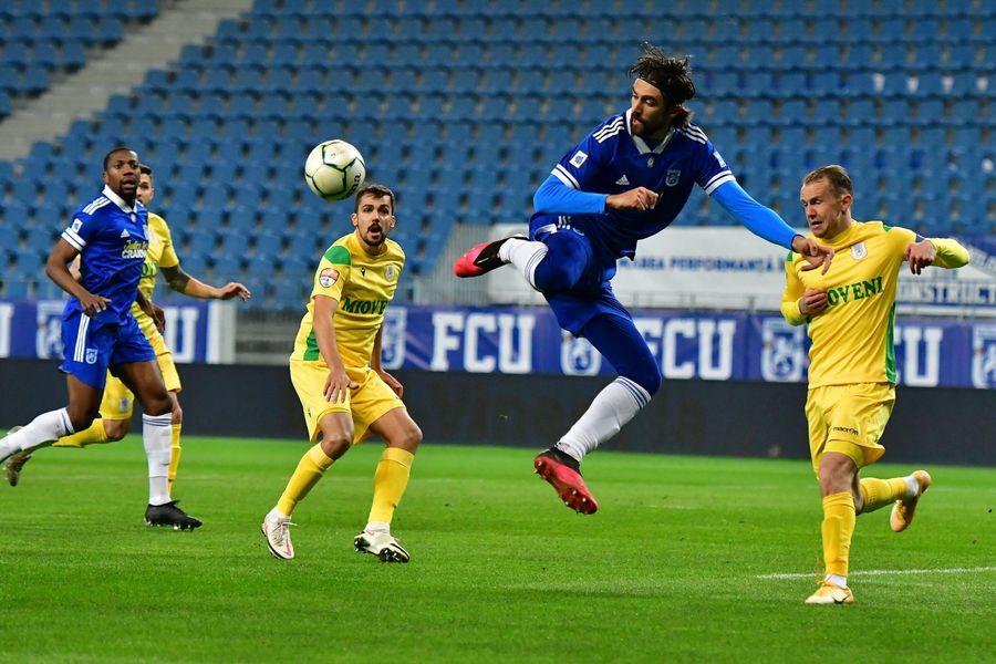 CS Mioveni se impune în Bănie cu 2-1 şi arată încă o dată că se simte mai bine pe terenuri străine