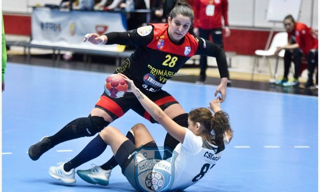 CS Dacia Mioveni nu a făcut față puternicei echipe a CSM București și a pierdut meciul cu 28-23