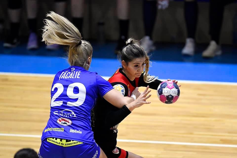 CS Dacia Mioveni a pierdut cu 22-28 cu SCM Craiova, după un meci în care s-a bătut singură