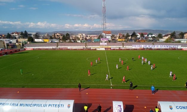 FC Argeş – Chindia Târgovişte 0-1, în Liga I