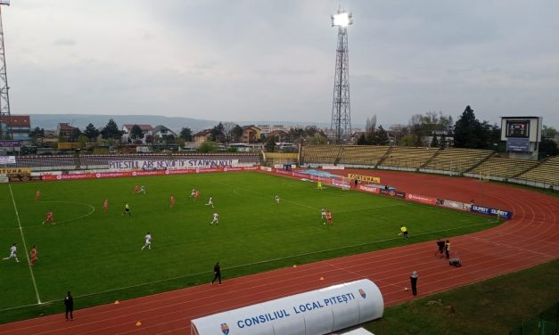 FC Argeş – UTA, scor 4-1, în play-out-ul Ligii I
